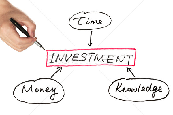 Investment diagram Stock photo © raywoo