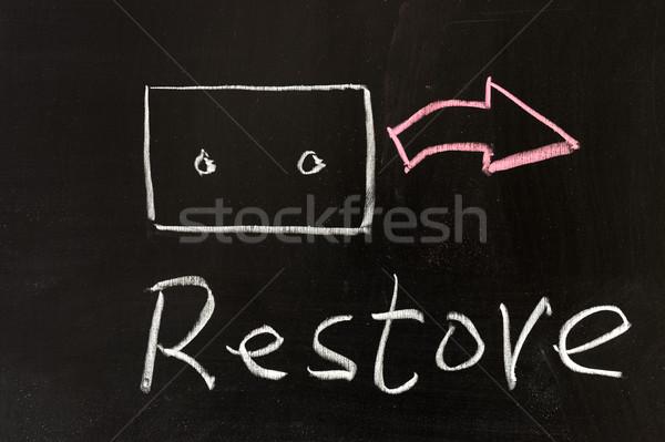 Restore Stock photo © raywoo