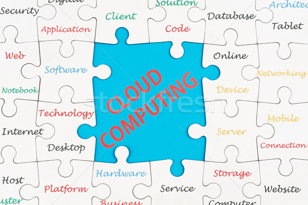 Stock photo: Cloud computing concept