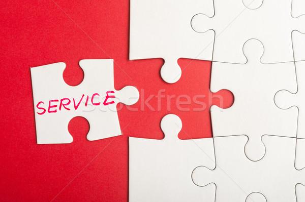Service concept Stock photo © raywoo