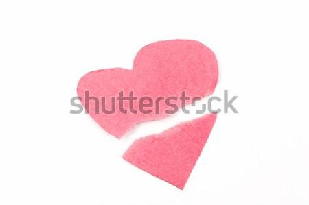 Broken heart Stock photo © raywoo