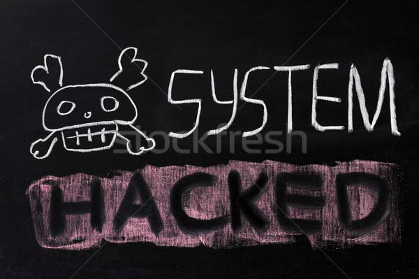 System hacked Stock photo © raywoo