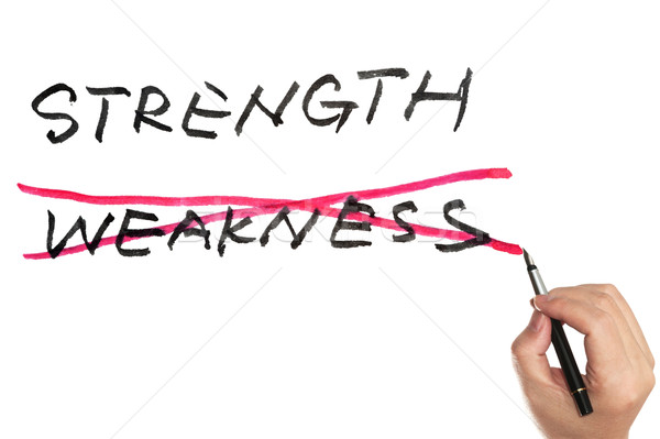 Strength or weekness Stock photo © raywoo