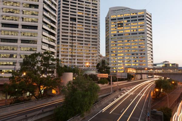 Sydney urban scene Stock photo © raywoo