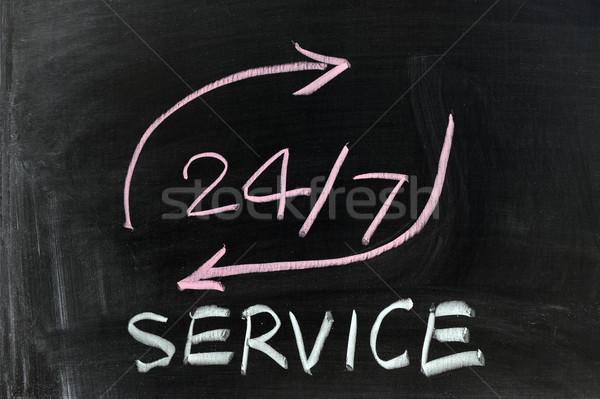 24/7 service Stock photo © raywoo