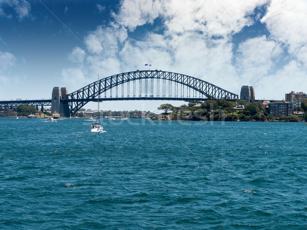 Sydney Harbour bridge Stock photo © raywoo