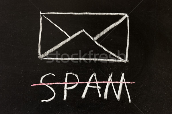 No spam Stock photo © raywoo
