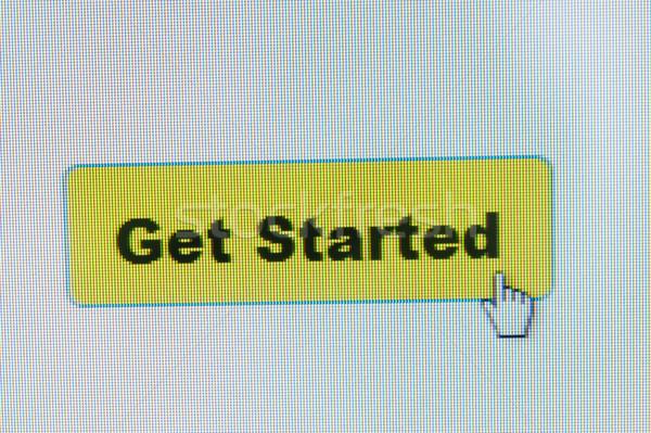 Сток-фото: кнопки · мыши · курсор · экране · компьютера · бизнеса · стороны