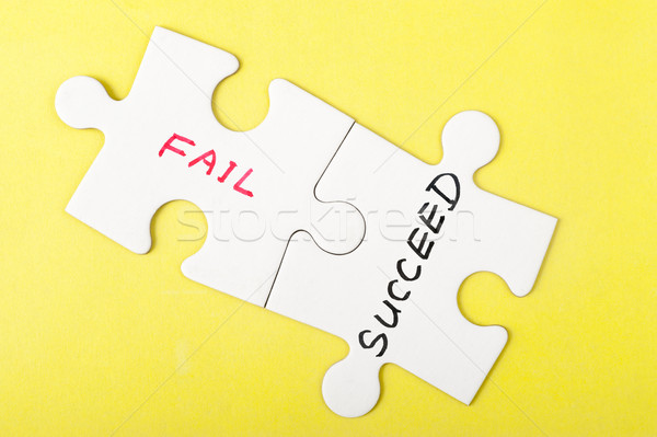 Fail or succeed Stock photo © raywoo