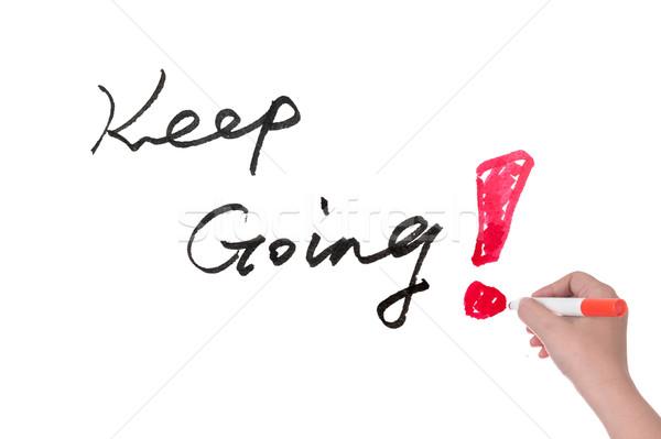 Keep going Stock photo © raywoo