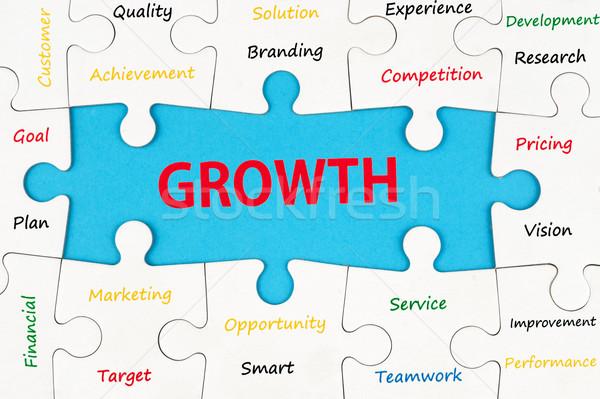 Growth concept Stock photo © raywoo