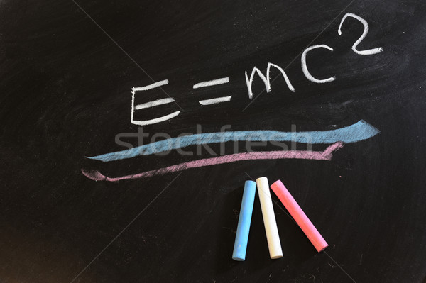 Theory of relativity Stock photo © raywoo