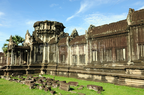 Cambodia - Angkor wat temple Stock photo © raywoo