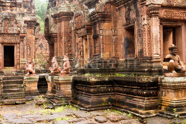 Cambodia - Angkor - Banteay Srei Stock photo © raywoo