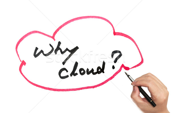 Why cloud? Stock photo © raywoo