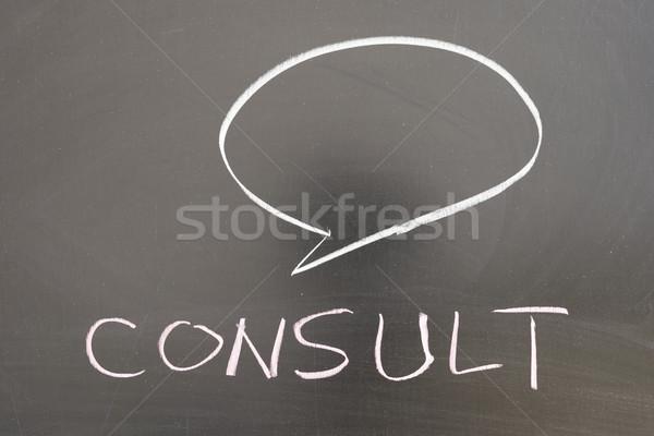 Consult Stock photo © raywoo