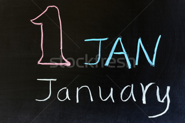 January Stock photo © raywoo