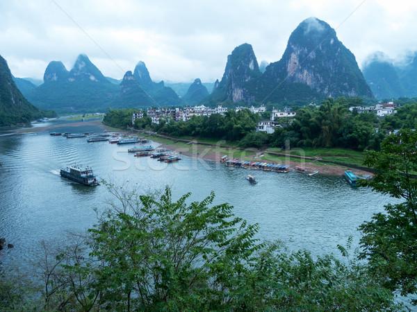 River landscape Stock photo © raywoo