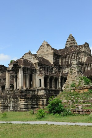 Camboja Angkor Wat templo angkor edifício pedra Foto stock © raywoo
