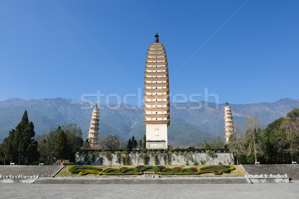 China Buddhist pagodas Stock photo © raywoo