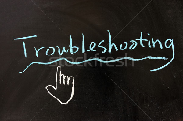 Troubleshooting Stock photo © raywoo