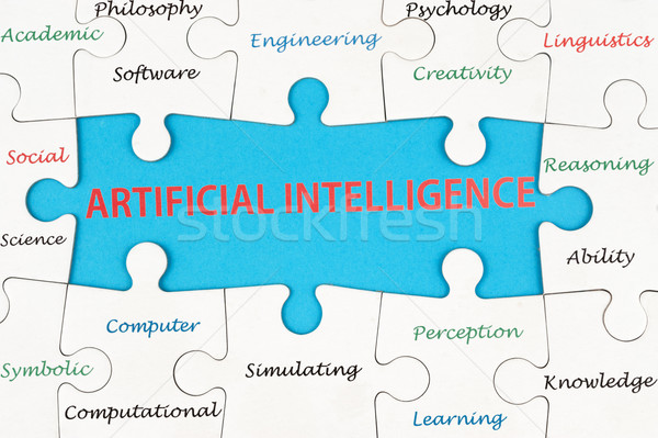 Artificial intelligence concept Stock photo © raywoo