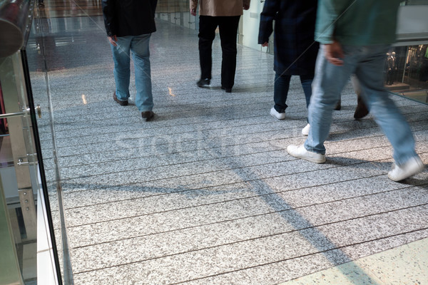 Shoppers passing by Stock photo © raywoo