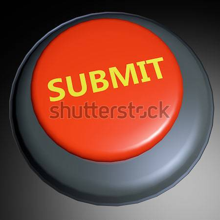 Submit 3D button Stock photo © raywoo