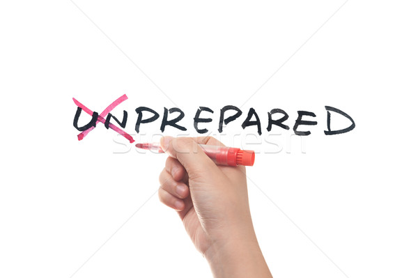 Unprepared to prepared Stock photo © raywoo