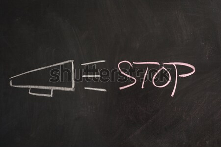 Zdjęcia stock: Faq · Tablica · piśmie · często · podpisania · list