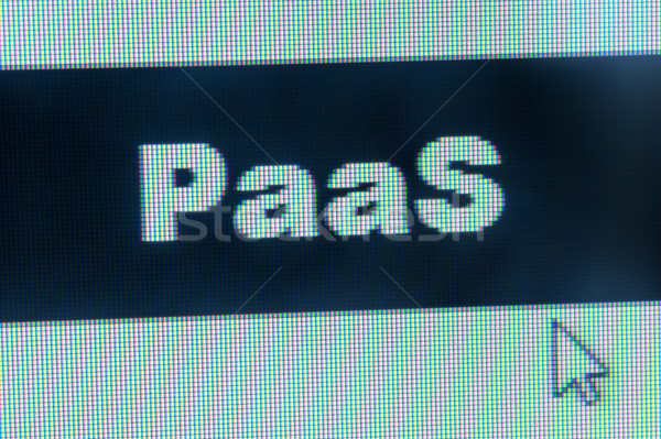 PaaS word and cursor Stock photo © raywoo