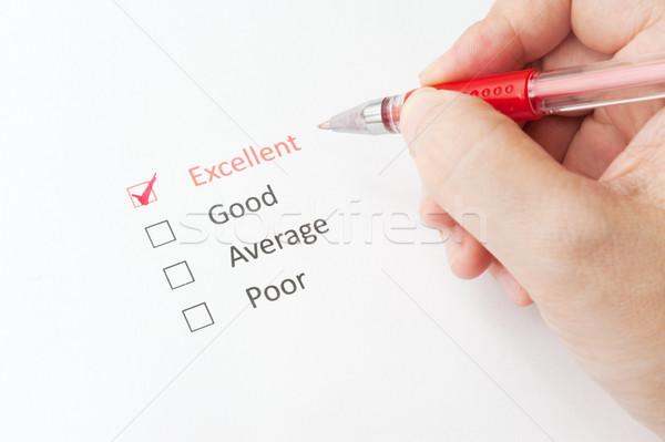 Excelente bom média pobre caneta outro Foto stock © raywoo