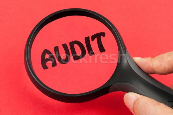 Audit concept Stock photo © raywoo