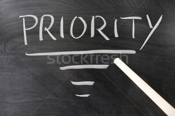 Priority concept Stock photo © raywoo