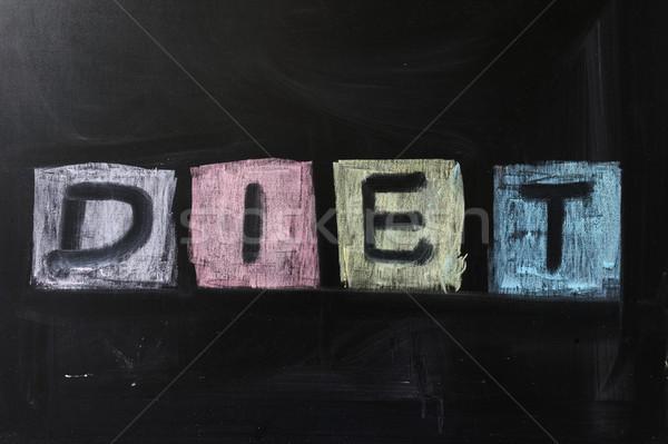 Diet Stock photo © raywoo