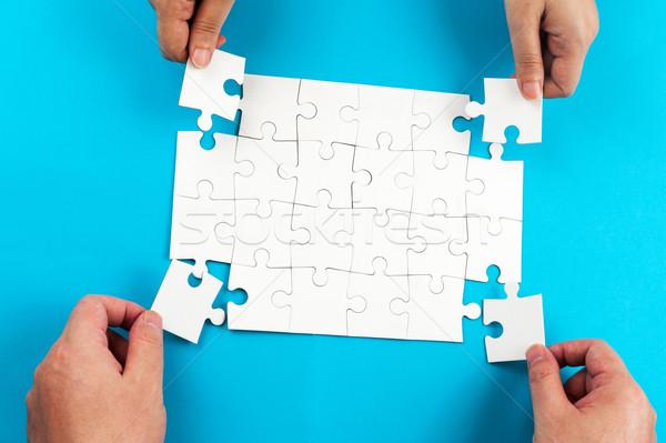 puzzles Stock photo © raywoo