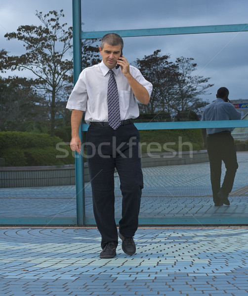Businessman calling Stock photo © RazvanPhotography