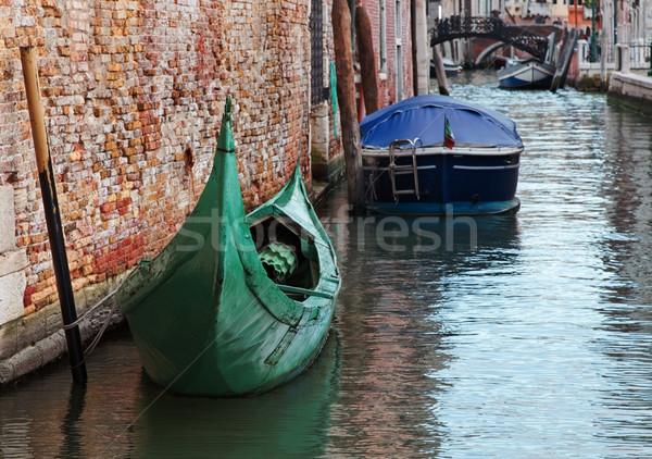 Vert gondole image faible canal Photo stock © RazvanPhotography