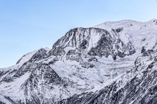 Kupola tél kép váll tájkép hó Stock fotó © RazvanPhotography
