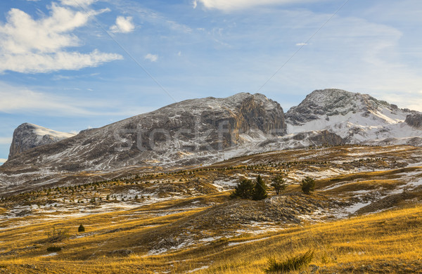 Stock photo: Mountain Without Snow in Winter