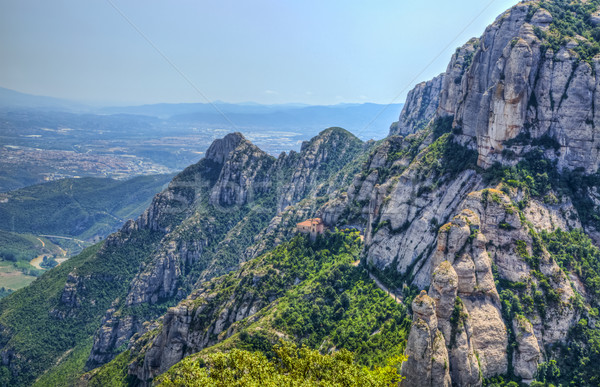Montserrat Mountain Stock photo © RazvanPhotography