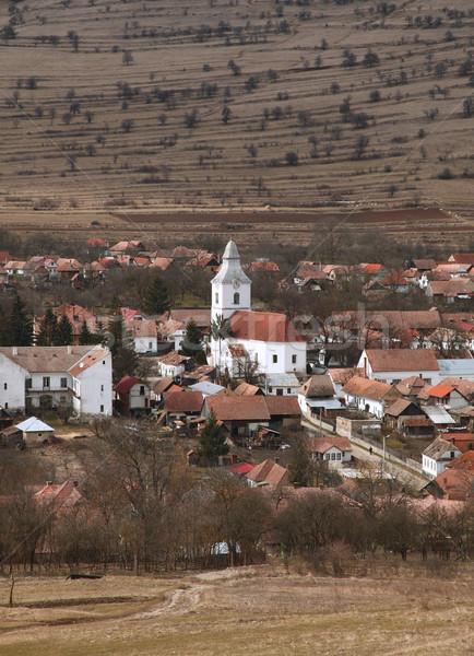Rumuński w. region wcześnie wiosną sezon Zdjęcia stock © RazvanPhotography