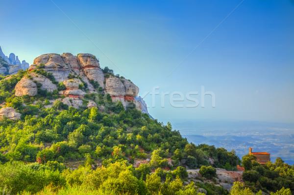 Montserrat Mountain Stock photo © RazvanPhotography