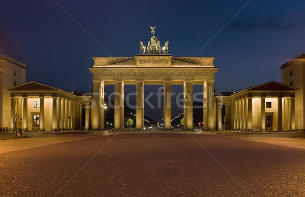 The Brandenburger gate Stock photo © RazvanPhotography