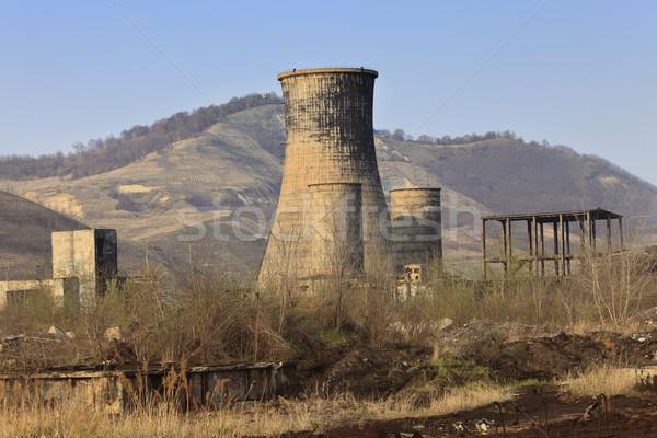 Heavy industry ruins Stock photo © RazvanPhotography