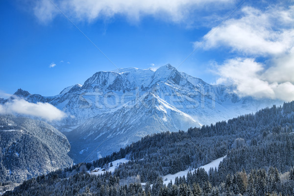Mont Blanc Massif Stock photo © RazvanPhotography