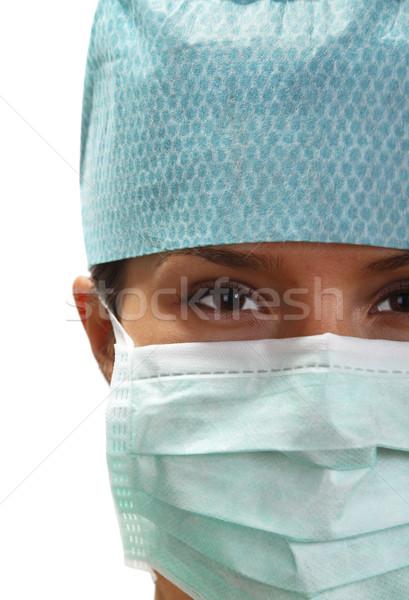 портрет женщины хирург женщину студент здоровья Сток-фото © RazvanPhotography