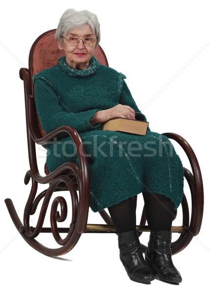 Old woman Stock photo © RazvanPhotography