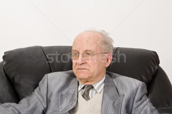 Portrait of a senior businessman Stock photo © RazvanPhotography