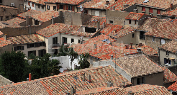 Roofs of Carcassonne Stock photo © RazvanPhotography